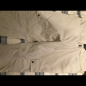 Cream corduroy pocket pants - Ralph Lauren